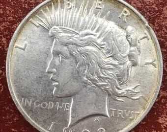 1922 P Peace Dollar   -M207-
