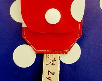 door token, accessory bag, token caddy, trolley token
