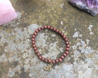 Bracelet, Buddha, OM