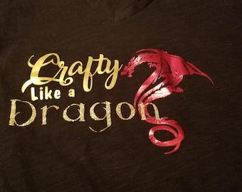 Crafty Like a Dragon T-Shirt