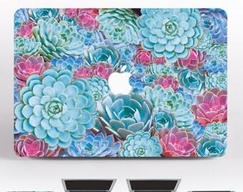 Succulents Laptop Decal For Laptop MacBook Decal MacBook Air MacBook Pro Skin 15 MacBook Pro MacBook Air 11 Decal For MacBook Sticker DR131