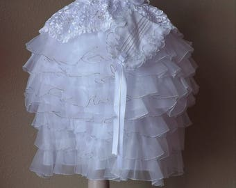 Christening robe, gown, Christening baptism gown