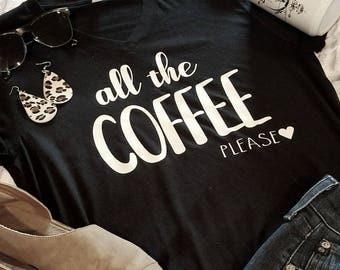 Coffee Shirt | Coffee | T-Shirt | Coffee Lover | Mom Shirt | Coffee tshirts| Coffee Shirts | Funny Coffee Shirt | But First Coffee |