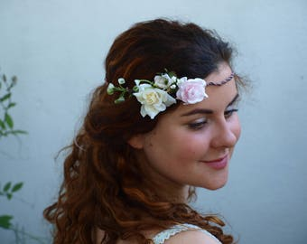 "Flowercrown,Bridescrown,Weddingcrown  "" ROMANTICAL YOURS """