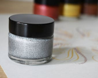 Silver Metallic Calligraphy Ink
