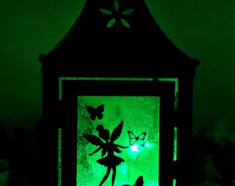 Green LED Fairy Lantern