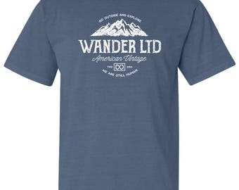 Wander Ltd National Park Adventure Comfort Colors TShirt