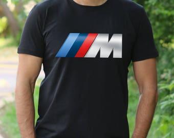 BMW T Shirt BMW Logo shirt BMW T-shirt bmw Logo Sports car tshirt racing t-shirt bmw tee bmw logo t-shirt