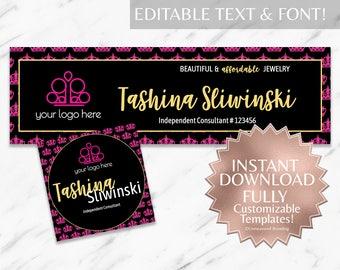 Black|Hot Pink|Gold|Paparazzi|Paparazzi Facebook Banner|Paparazzi Facebook|Paparazzi Business Cards|Paparazzi Consultant|Accessories|INSTANT