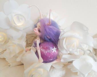 Twyla: Resin 1/8 Bjd doll chateau Larry Snail Model Handmade Doll Galaxy Star Shell