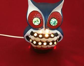 Vintage Owl Night Light