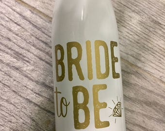 Personalized Engagement Water Bottle