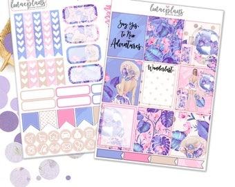 Wanderlust (EC) Kit - Planner Stickers Happy Planner Erin Condren Kikkik Personal Planner Travelers Notebook
