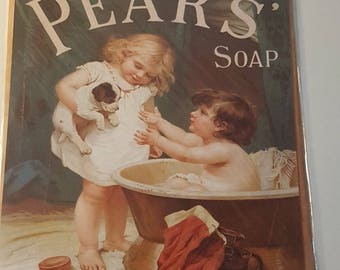 Pears Soap Advert- Classic Advert-Vintage Advert- Soap Poster