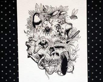 Destruction - Art Print