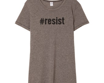 Resist Shirt | Anti Trump Shirt | Resistance Shirt | Protest Shirt | Anti Trump | Dump Trump | Anti-Trump | Feminist Shirt | Political Shirt