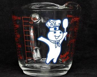 PILLSBURY DOUGH BOY Measuring Cup ~ Measuring Cups ~ Pillsbury Dough Boy ~ Pillsbury ~ Dough Boy Collections ~ Kitchen Utensils ~ Cooking
