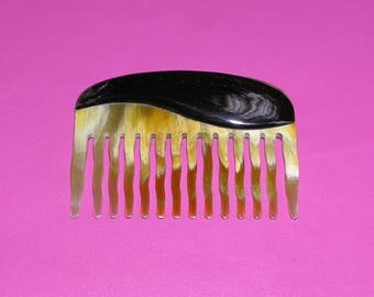 Gift for women, horn comb, ox horn comb, natural horn comb, horn hair comb, beard comb, buffalo horn, best comb, buffalo horn comb