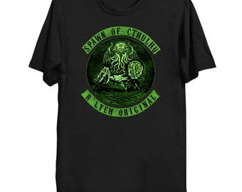 Spawn of Cthulhu - Cthulhu Shirt HP Lovecraft T-Shirt Cthulhu Tee Call of Cthulhu Great Old One Shirt