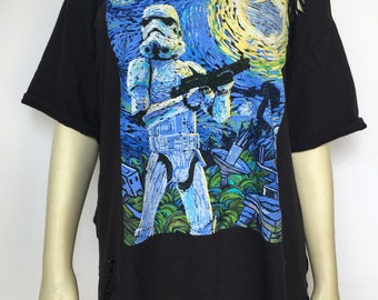 Custom Storm Trooper Distressed Tee
