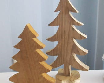Wood Christmas Tree Etsy