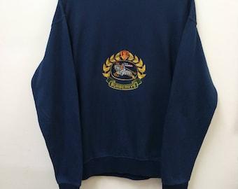 Vintage BURBERRYS Prorsum//Sweatshirt Embroidered Logo//Size