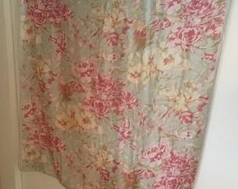 Pretty Silk Chiffon Scarf