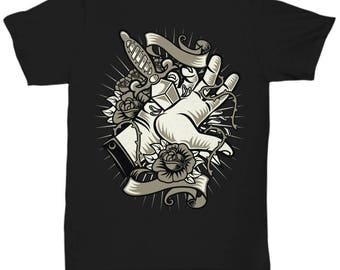 Sacrifice Rose Knives T-shirt
