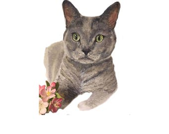 Custom pet portrait | cat portrait | dog portrait