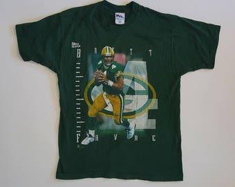 "Vintage T-shirt, ""Brett Favre, Green Bay Packers"""