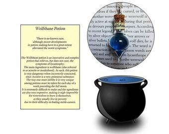 Wolfsbane Potion Necklace