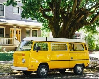 VW Van in Portland