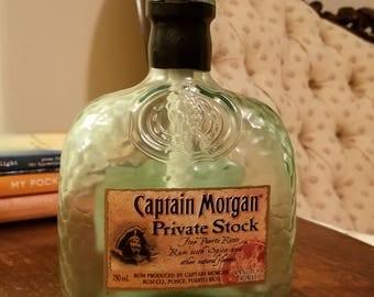 Captain Morgan Private Stock Liquor Bottle Tiki Torch
