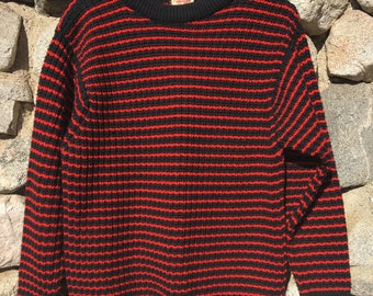 Vintage Abercrombie & Fitch Wool Sweater Made in Great Britain by Jaeger