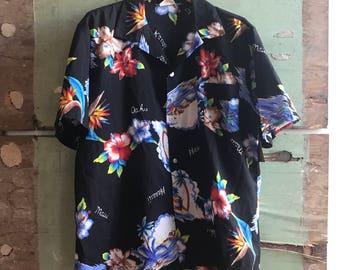 1970's X-Large Aikane Aloha Shirt