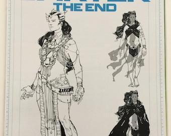 John Carter The End #1 Incentive Hayden Sherman Dejah Thoris Artboard Variant Cover Dynamite Entertainment Free Shipping
