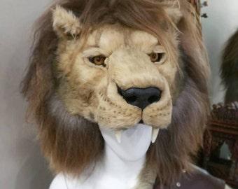 Cruelty Free Lion headdress
