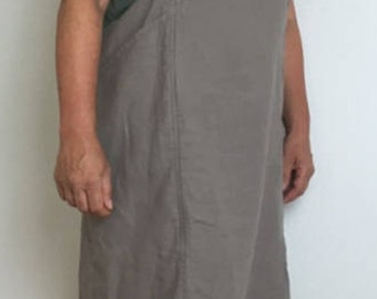 Apron made of 100% eco linen
