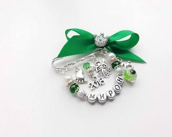 Personalized Name Jewelry, Custom Baby Name Pin, Baby Girl Gifts, New Mom Gift, custom Name Gift