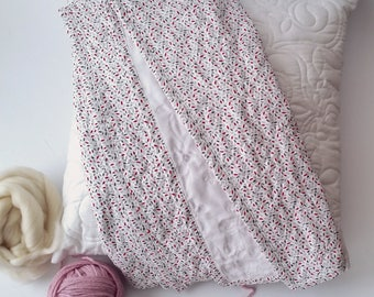 Quilted Baby Blanket, 105 x 95 cm