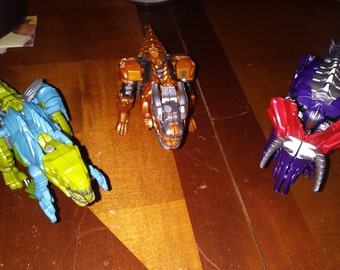 Age of extinction dinosaur transformers
