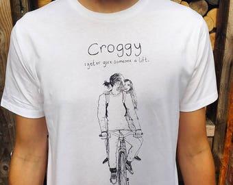 Handprinted organic cotton #CITYOFCULL Hull T-Shirts