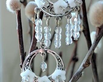 The Birgit Earrings - Romantic & Rustic