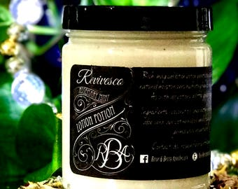 RevivescoLotionPotion Rosemary Mint Lotion Body Butter Handmade Moisturizer