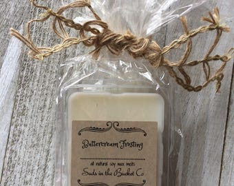 Buttercream Frosting Soy Wax Melt- / Scented Soy Wax Melt/ Farmhouse Bakery Natural Wax Melt All Natural