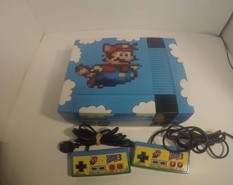 Nintendo Nes Custom Console Mod Video Game System Vintage Retro Gaming Artwork