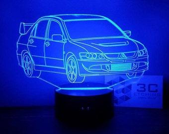 Mitsubishi Evo VIII LED Display