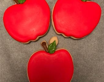 Apple Sugar Cookies (1 dozen)