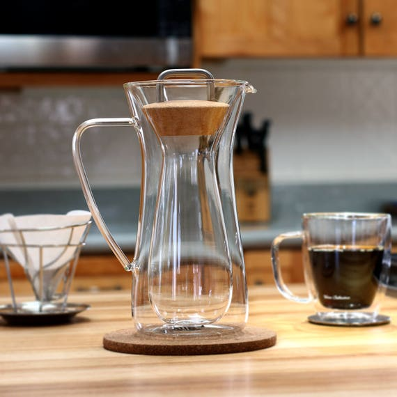 Insulated Pour Over Coffee Maker : Insulated pour over coffee maker Hand Made