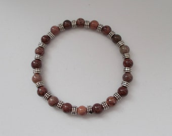 Browm Beaded Bracelet